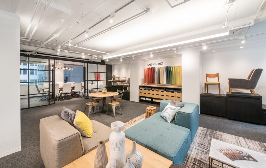 Peabody/West Elm Showroom: a FOX Architects Project
